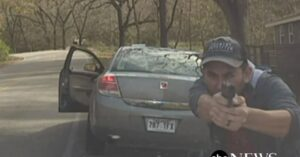 Dramatic Video Shows Gunfight Between Suspect And Police Officer