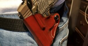 #DIGTHERIG – Michael and his Sig Sauer P938 in a DeSantis Holster