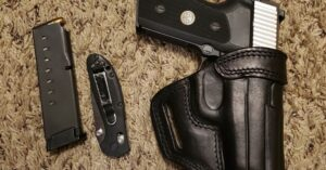 #DIGTHERIG – Ben and his Sig Sauer P225A1 in a Kirkpatrick Holster