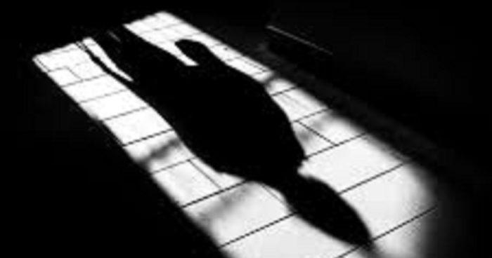 Shadow in doorway