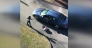 [WATCH] Woman Takes Gun From Man Inside Vehicle During Heated Exchange, Fires Shot, Both Arrested