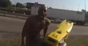 [VIDEO] A Taser AND A Gun Might Not Immediately Stop The Threat