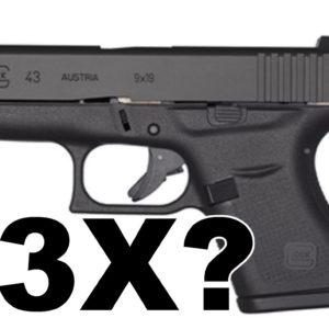 Glock 43 x 43x