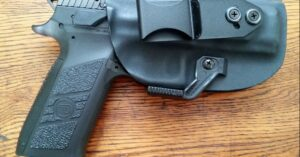 #DIGTHERIG – Mark and his CZ P-09 in a Vedder Holster
