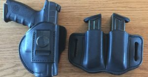 #DIGTHERIG – Charles and his Beretta APX in a 1791 Gunleather Holster