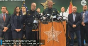 [WATCH] Press Conference Sheds Some Light On FL Bank Mass Shooting