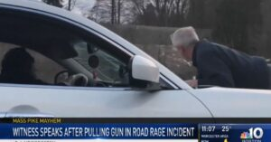 Armed Citizen Draws Gun On Driver Who Sped Down Highway With Person On Hood