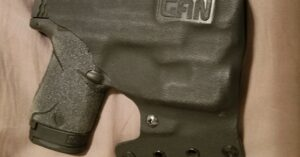 #DIGTHERIG – Budmam and his Smith & Wesson M&P 40 in a Gan Custom Holster