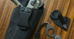 #DIGTHERIG – Chris and his CZ 75 SP-01 in a Homemade Kydex Holster