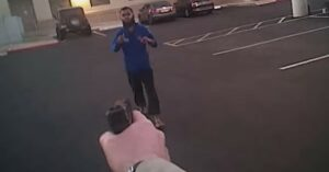 [VIDEO] Man Pledging Allegiance To Terrorists Is Shot By Arizona Police Officer