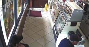[VIDEO] Random Knife Attack While In Line At Donut Shop At 3pm Will Leave You Thinking About Situational Awareness