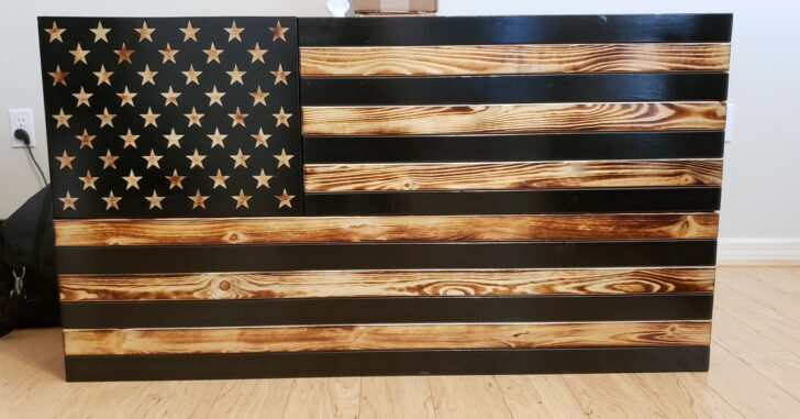 [PRODUCT REVIEW] San Tan Woodworks Burnt X-Large Concealment Flag