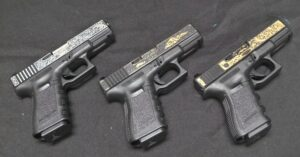 Rare, Engraved Glock 19's Are Up For Grabs