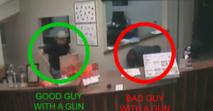 Insane Video Shows Concealed Carrier Going Up Against Two Armed Jewelry Store Robbers
