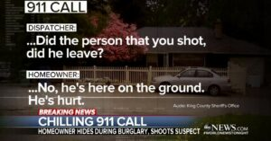 911 Call Shows Us That We're The First Line Of Defense