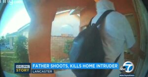 Father Saves Entire Family And Stops Home Invader With Head Shot In California