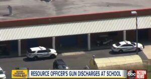 School Resource Officer's Firearm Goes Off in School Feet Away from Children