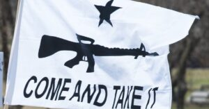 Loud Gun Rights Bumper Sticker Prompts Vehicle Break-In