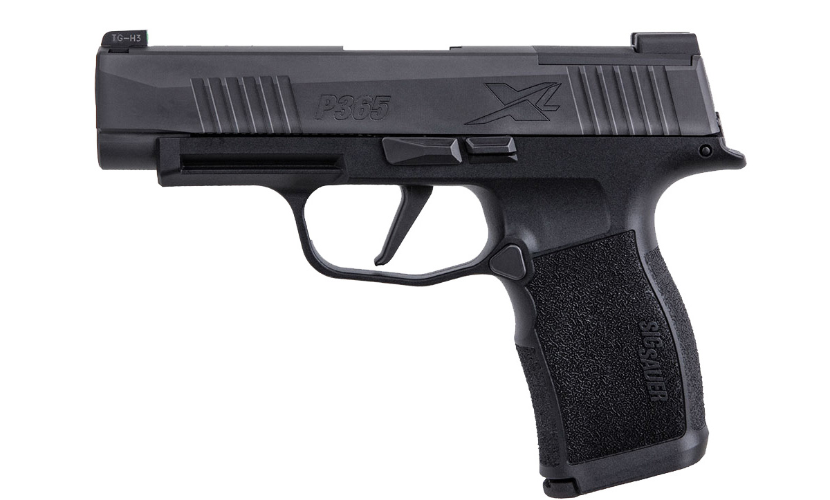 LEAKED: Sig Sauer P365 XL, Optics Ready And Higher