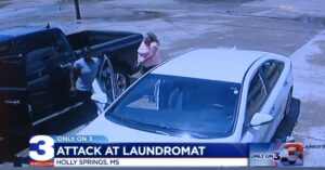 [VIDEO] Laundromat Employee Forced To Draw Firearm After Physical Altercation With Customer