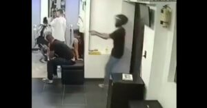 *WARNING: GRAPHIC* Man Sitting Inside Barber Shop Is Executed By Gunman; Always Watch Your 6
