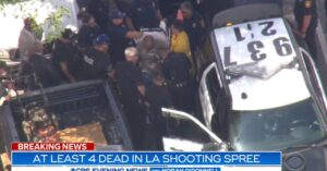 Shooting Spree In Los Angeles Leaves 4 Dead, Suspect Captured, Many Questions Left