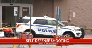 Armed Citizen Threatened In Lowes Parking Lot By Man With Piece Of Lumber, Shoots Him After He Ignores Commands