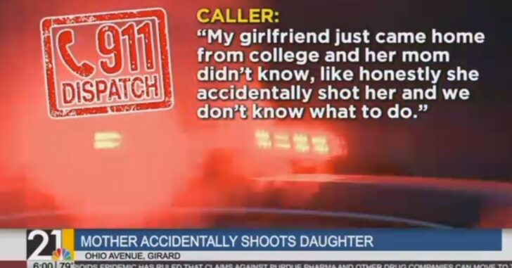 Daughter Comes Home From College To Surprise Mom, Mom Mistakes Her For Intruder And Shoots