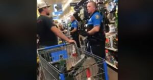 [VIDEO] Man Banned Nationwide After Openly Carrying Handgun In Walmart