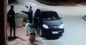 [VIDEO] Robber Goes To Rob Man On Street, Realizes It's His Friend, Then They Hug It Out