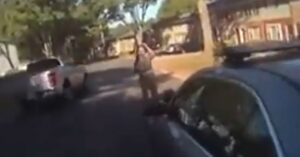 [VIDEO] Officer Shoots Woman Carrying Knife And Gun, Some Think The Force Was Excessive
