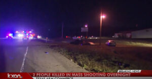 Gunman On The Loose After Shooting 14 People In Texas, 2 Dead, No Description Or Motive For Suspect