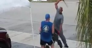 FL Men Fight Over Trash, One Pulls A Sword, Other Keeps Fighting For Some Reason