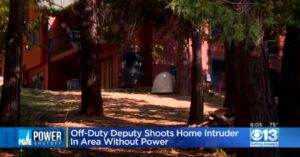 Off-Duty Deputy Shoots, Kills Intruder In His Home During Power Outage