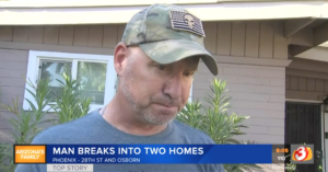 Armed Veteran Helps Catch Man Who Entered Two Homes, Sexually Abused Woman