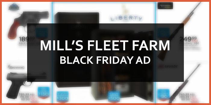 MILL'S FLEET FARM BLACK FRIDAY AD