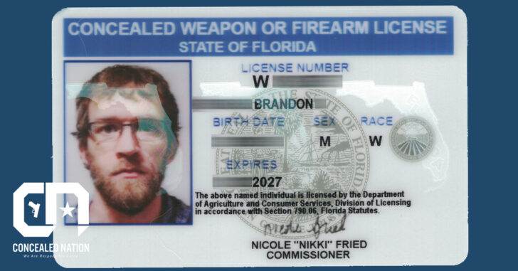 Florida Halts Processing Of Concealed Carry Permits
