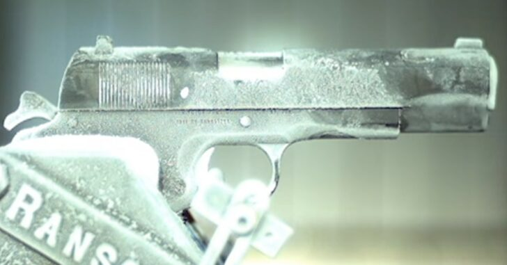 Watch This 1911 Being Shot At -65 Degrees Fahrenheit In Slow-Motion