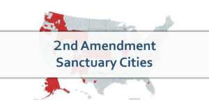 Map Shows How Many 2nd Amendment Sanctuary Cities There Currently Are In America