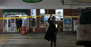 14 Year Old Boy Shot At Gas Station, Armed Bystander Shoots Back At Attackers