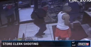 Two Gas Station Customers Shoot, Kill Masked Armed Robber