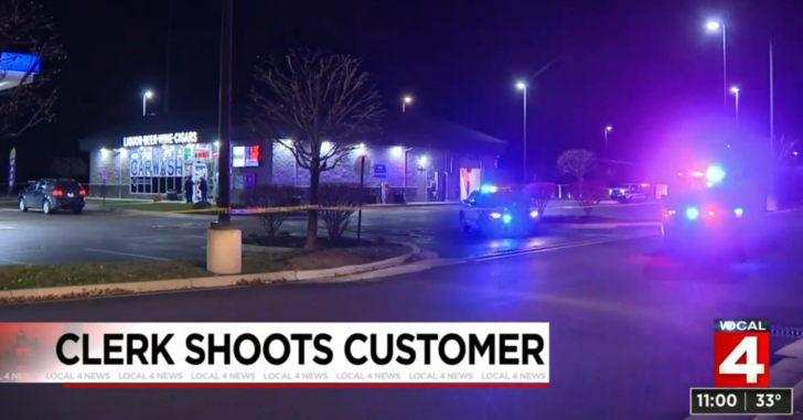 Man Shot Twice By Gas Station Clerk After Attacking Him With A Bottle
