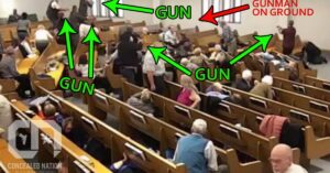 At Least 5 Armed Churchgoers Are Seen On Video Following Shooting, One Victim Possibly Armed As Well