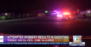 Gunfight Erupts Between Three Armed Robbers And Store Clerk, One Robber Shot, Killed