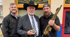 Jack Wilson Given Custom Rifle By Sons Of Liberty GunWorks