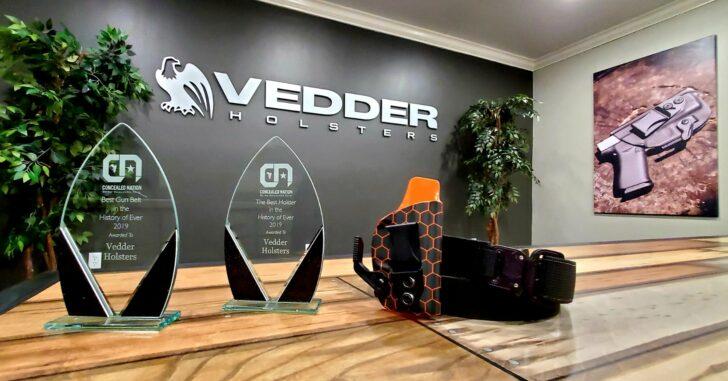 Vedder Holsters Receives Awards For Best Holster And Best Gun Belt 2019