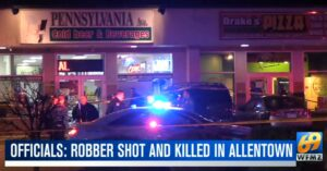 Robbery Victim Shoots, Kills Armed Robber During Second Robbery Attempt