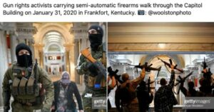 Armed Citizens Walk Into Capitol Building In Kentucky. Security Sees Them. Nothing Happens.