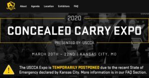 2020 USCCA Concealed Carry Expo Postponed Due To Coronavirus