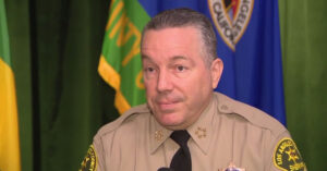 LA County Sheriff: All Gun Stores Forced To Close, And Let's Release 1,700 Inmates From Jail